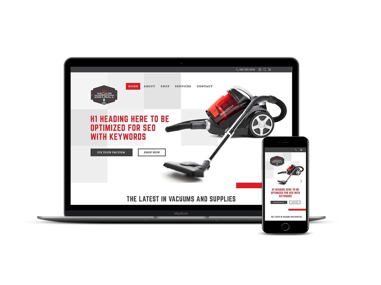 Spacer Web Agency Portolio Item Vacuum District Multi