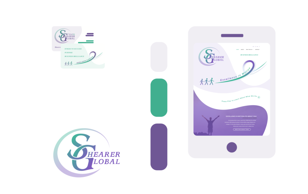 Freelance Graphic Design - Shearer Global Branding Feature