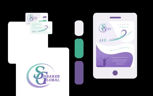 Freelance Graphic Design - Shearer Global Branding Feature