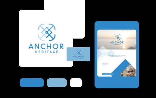 Freelance Graphic Design - Anchor Heritage Branding Feature