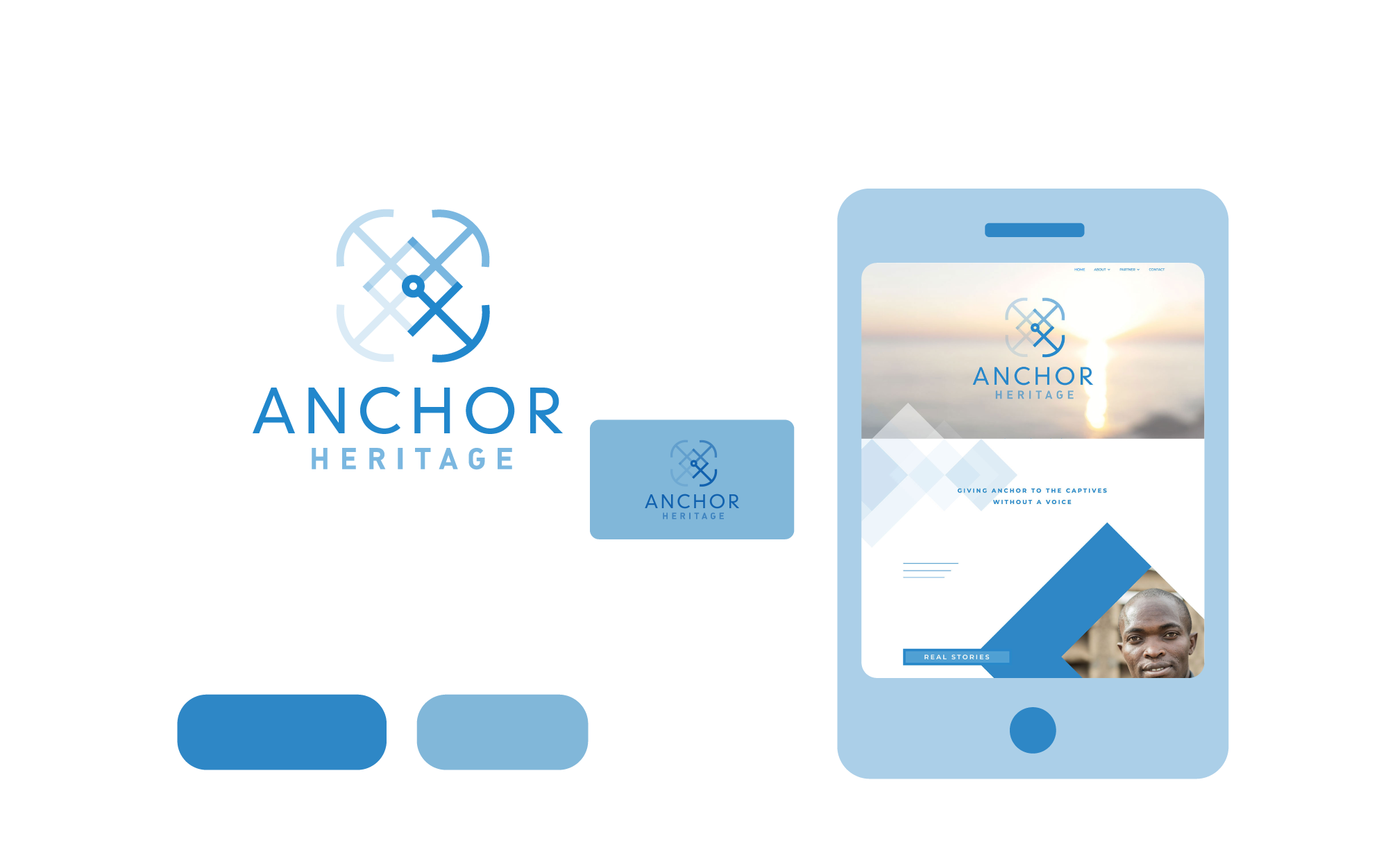 Freelance Graphic Design - Anchor Heritage Branding Feature
