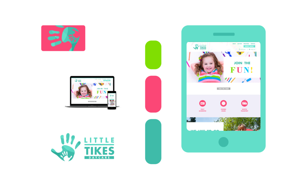 Freelance Graphic Design - Little Tikes Branding Feature