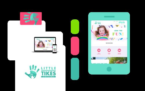 Freelance Graphic Design - Little Tikes Branding Feature